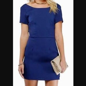 Tobi Mini Dress in NAVY